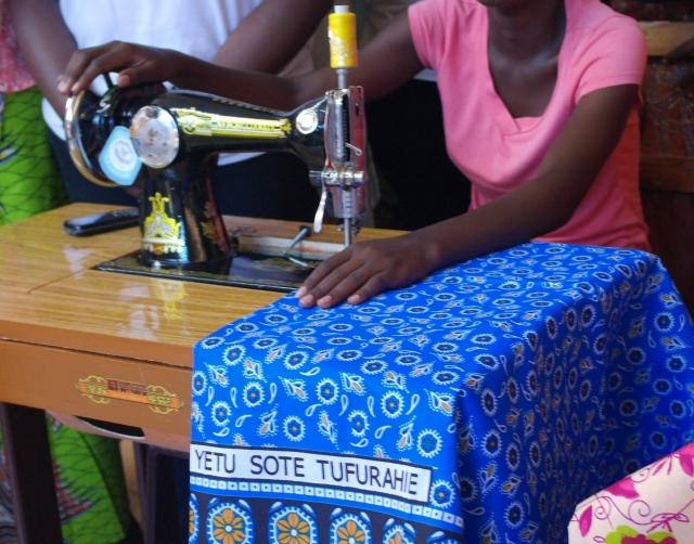 Can a Sewing Machine be the means by which a woman can leave prostitution to pursue a better life?
